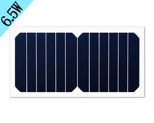 6.5w 6.5v柔性太阳能板