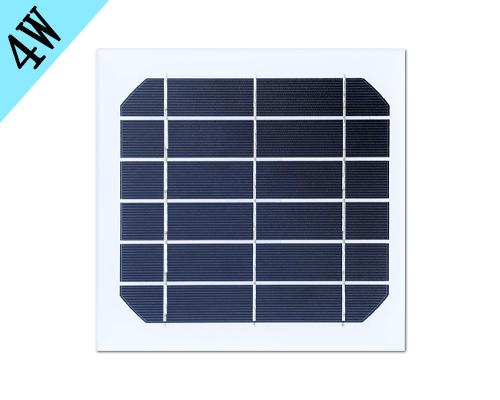 4w单晶硅太阳能板