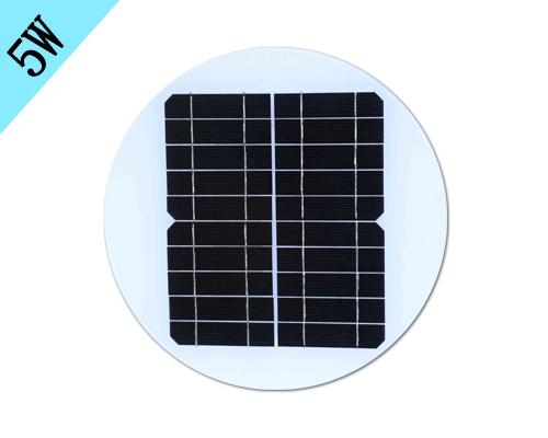 5w圆形太阳能板