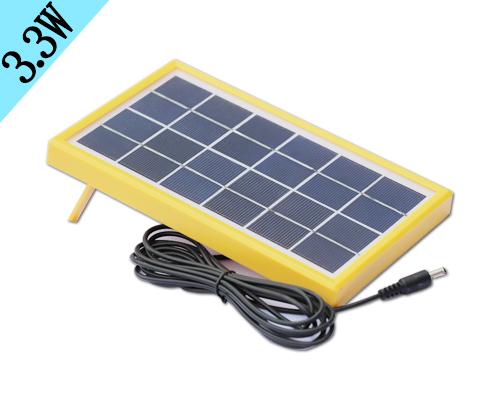3.3W多晶硅太阳能板