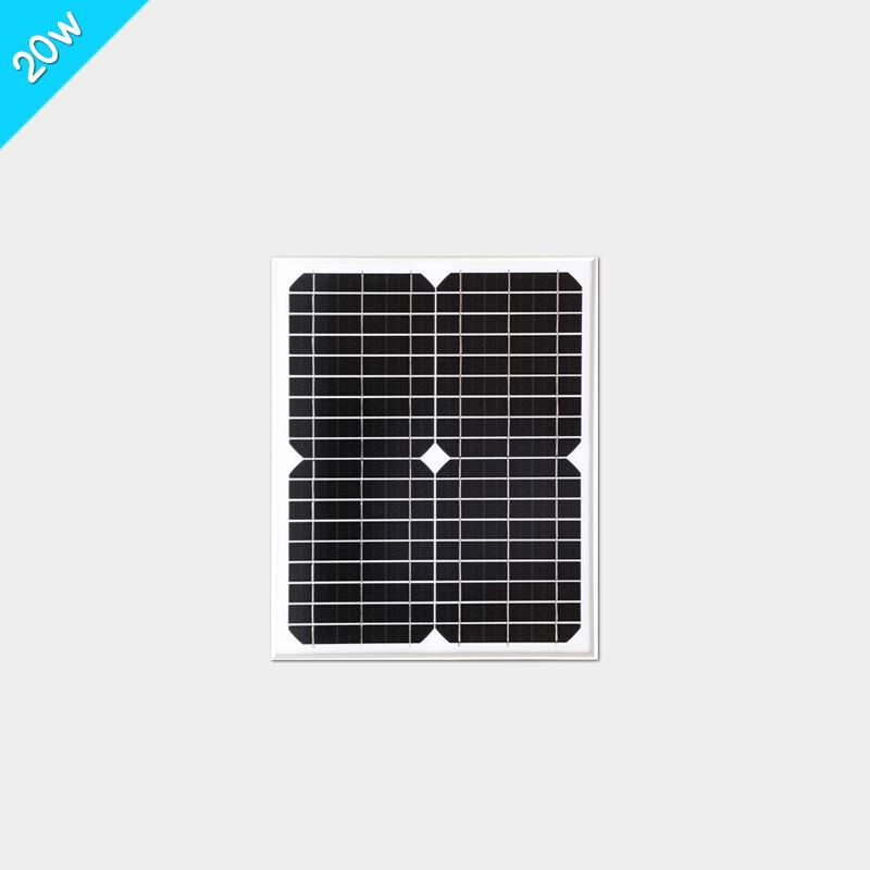 18v 20w单晶太阳能电池板