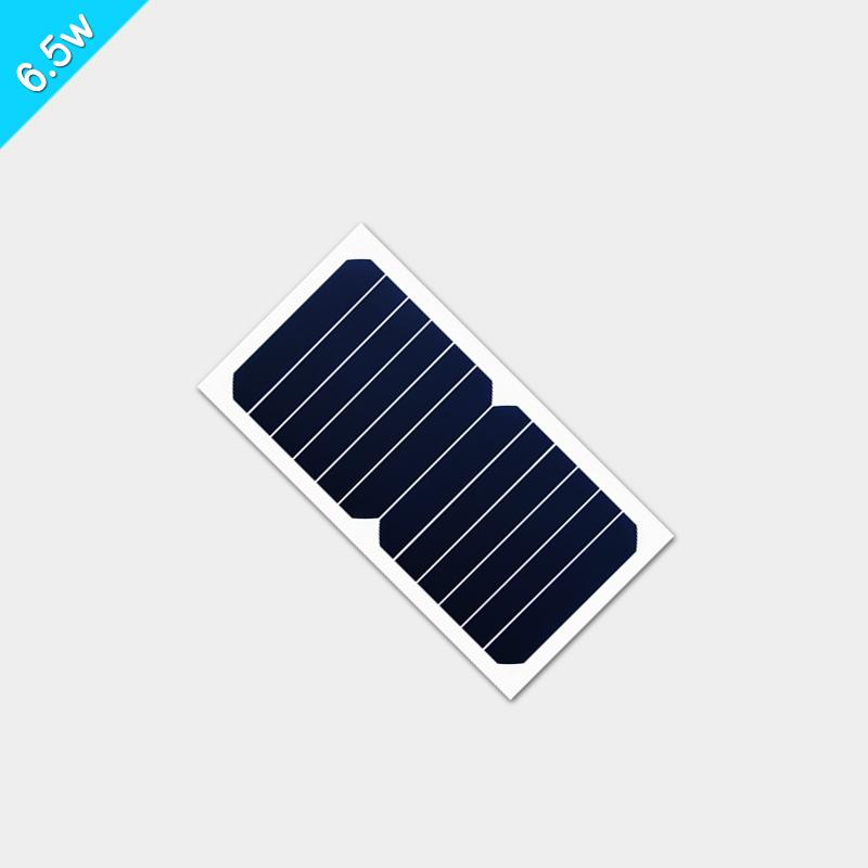 6.5W pet层压的柔性太阳能板