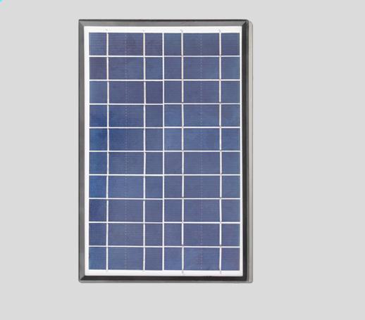 6W多晶硅RoHS认证太阳能充电板