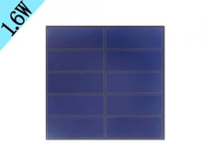 1.6w玻璃太阳能板