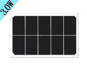 3w玻璃太阳能板