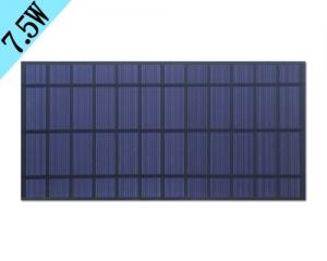 河南7.5w多晶硅太阳能板