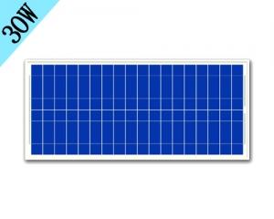 30W多晶太阳能板