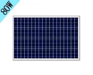 80w多晶硅太阳能板