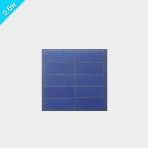 0.6w小功率磨砂pet层压太阳能板