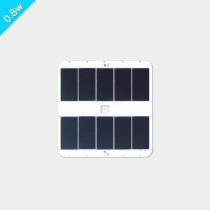 白色正方形(8080)太阳能充电板