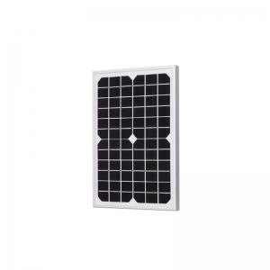 10W单晶硅太阳能板