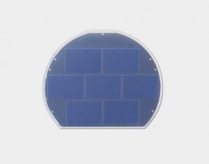 猫头鹰射灯太阳能电池板
