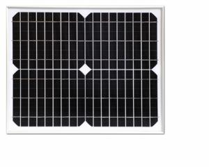 20W单晶硅太阳能板