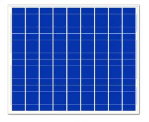 50w多晶硅太阳能板