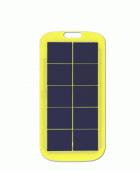 1.2W太阳能板 黄色pet层压太阳能板