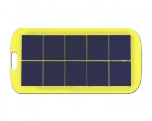 Mobile power solar panels