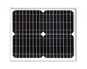 Monitor solar panel